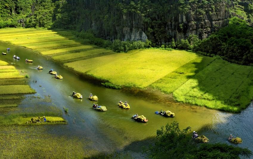 Hai bức ảnh chụp ở Tam Cốc lọt vào chung kết cuộc thi ảnh VnExpress