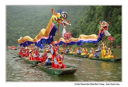 Độc đáo Lễ hội Thánh Quý Minh