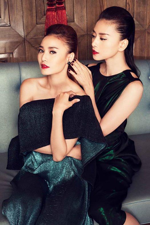 Đả nữ Ngô Thanh Vân và diễn viên Ninh Dương Lan Ngọc