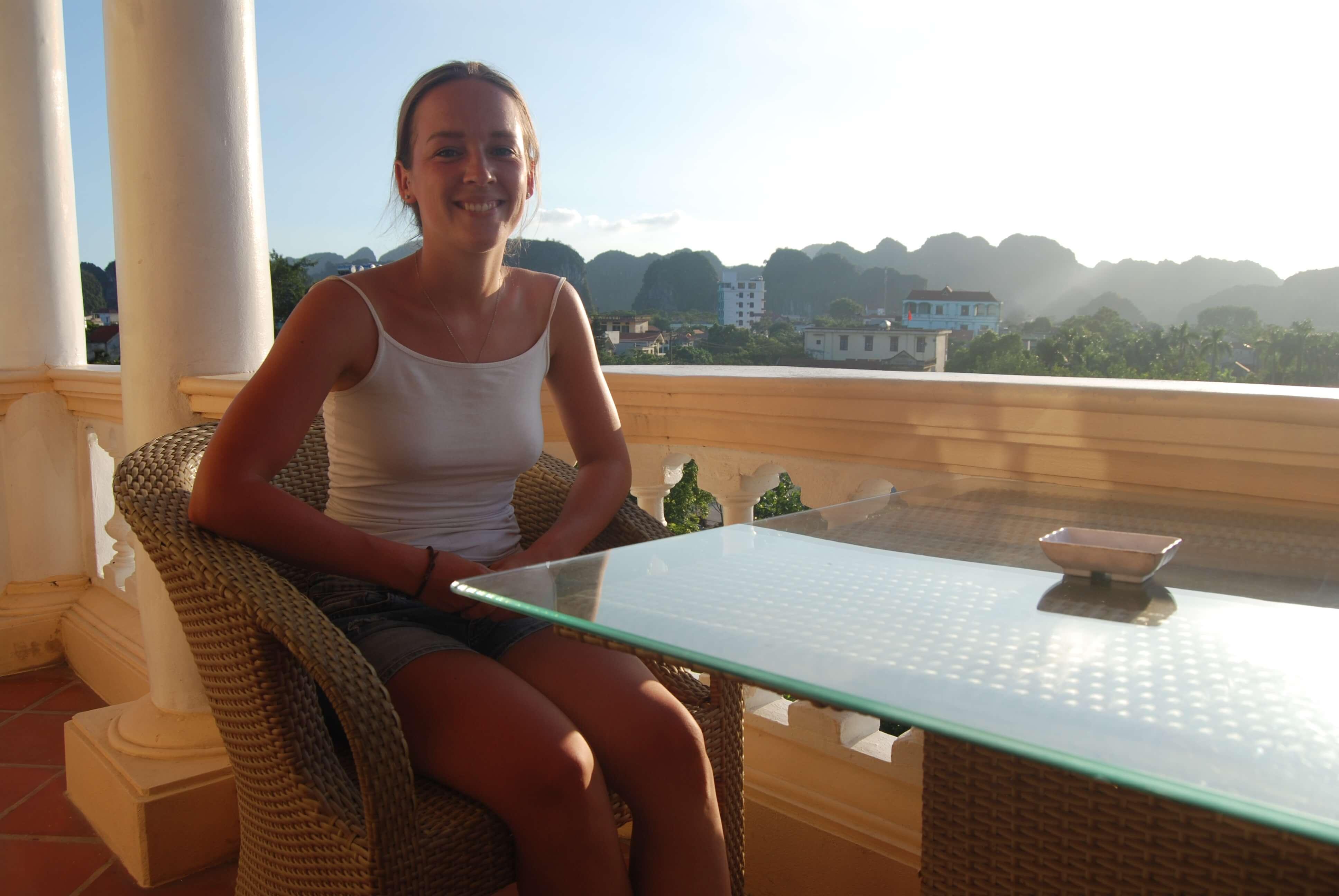Một du khách người Hà Lan đang nghỉ tại khách sạn