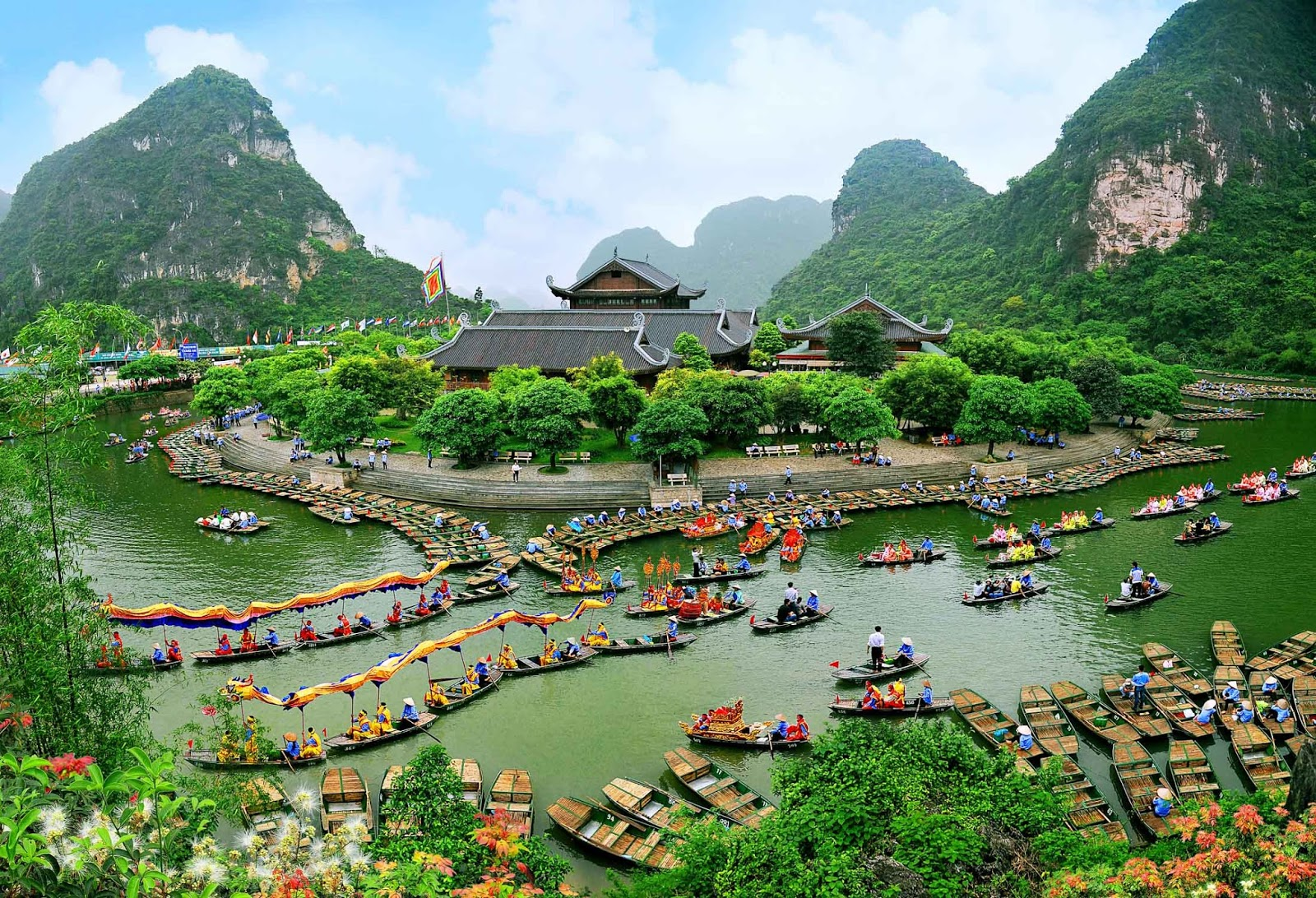 Image result for Tràng An Ninh Bình